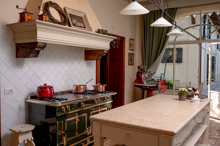 cucina country provenzale