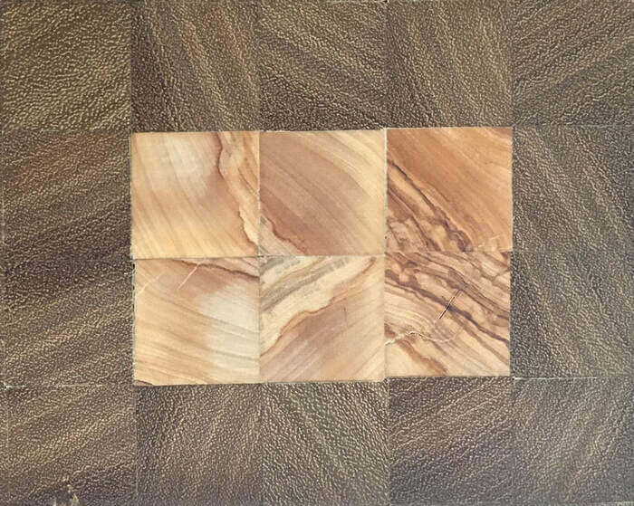 legno iroko e olivo