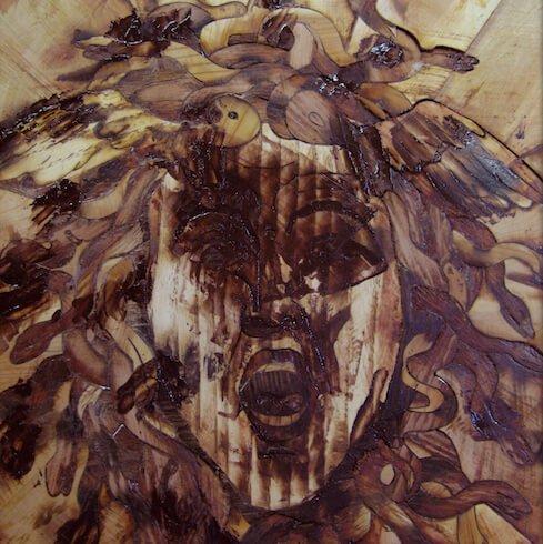intarsi legno massello disegno