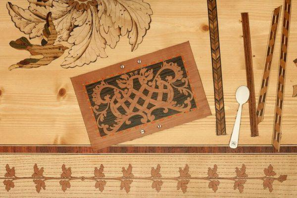 quadro intarsio legno