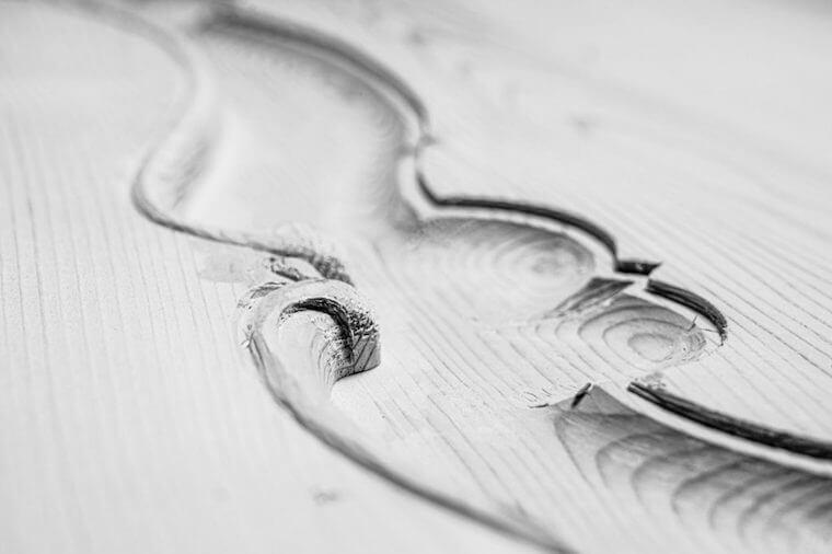 intaglio artistico in legno