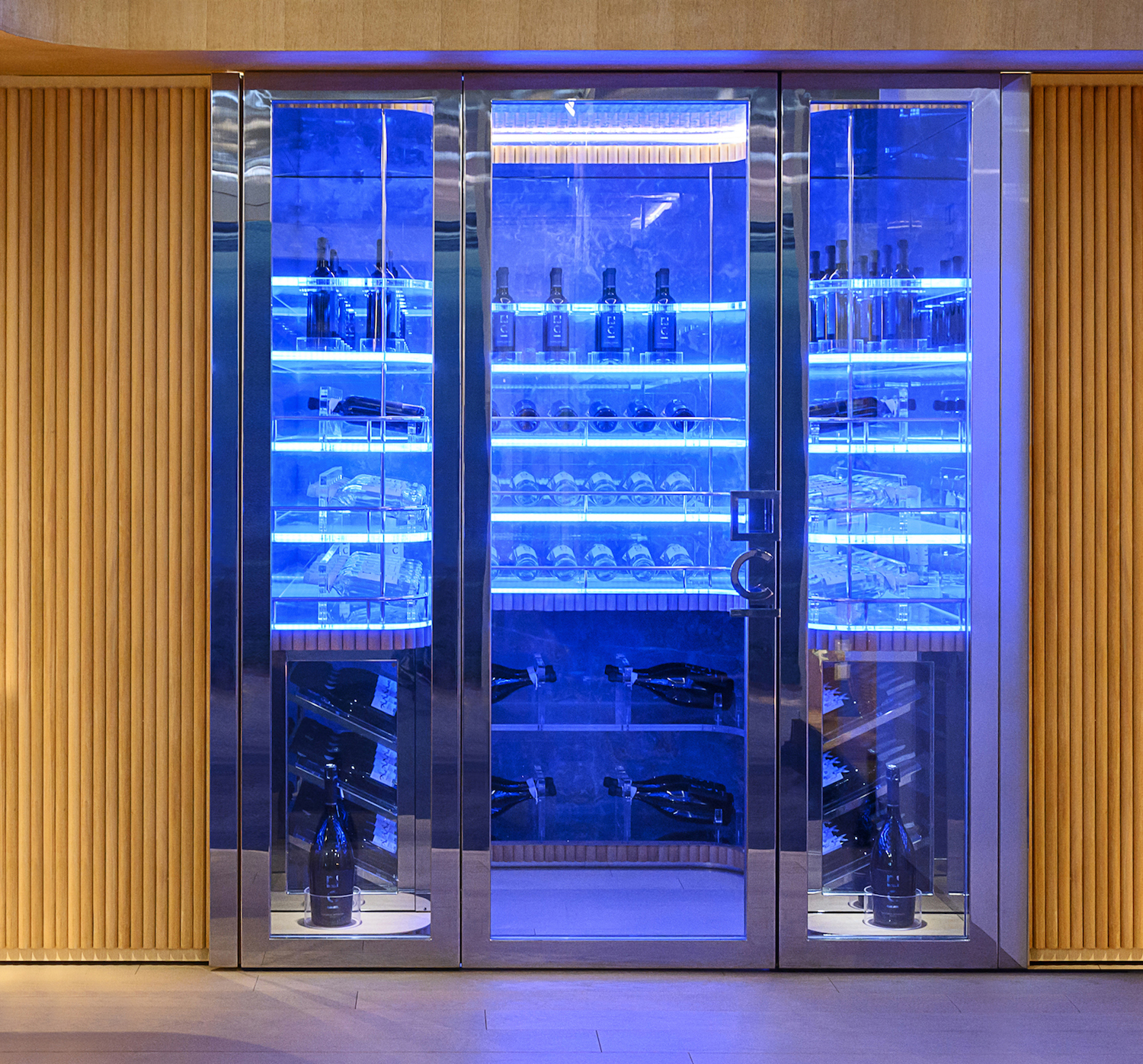 cantine vini di lusso per yacht | luxury wine cellars for yachts