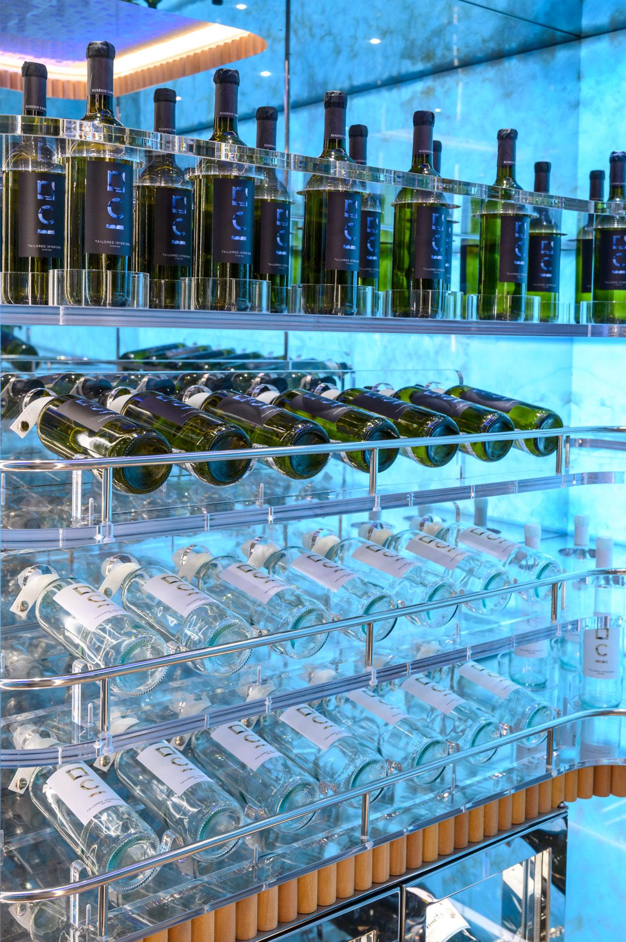 cantine vini per yacht